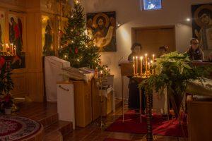 Porin ortodoksinen kirkko joulukuusi kuoro